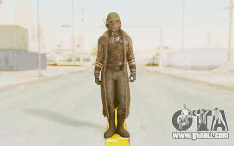 Fallout 4 - Veteran Ranger for GTA San Andreas second screenshot
