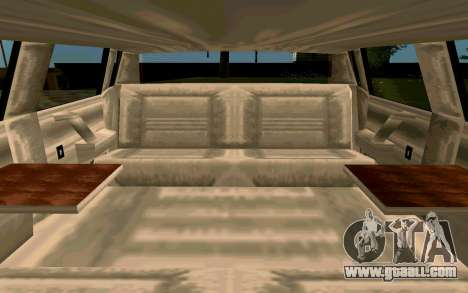 Tahoma Limousine v2.0 (HD) for GTA San Andreas inner view