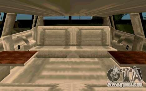 Tahoma Limousine v2.0 (HD) for GTA San Andreas inner view