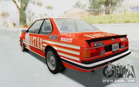 BMW M635 CSi (E24) 1984 IVF PJ3 for GTA San Andreas wheels