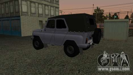 UAZ-469 for GTA San Andreas side view