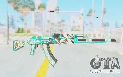 CS:GO - AK-47 Front Side Misty for GTA San Andreas