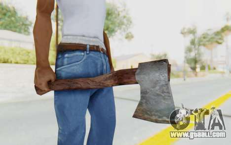 CoD Ghosts DLC Michael Myers Weapon for GTA San Andreas