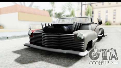 Broadway Ratrod for GTA San Andreas back left view