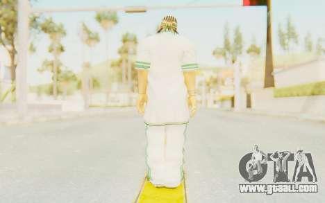 Def Jam Fight For New York - Sean Paul v1 for GTA San Andreas third screenshot