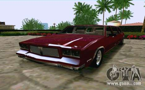 Tahoma Limousine v2.0 (HD) for GTA San Andreas