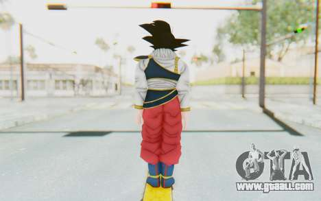 Dragon Ball Xenoverse Goku Yardrat Clothes for GTA San Andreas third screenshot