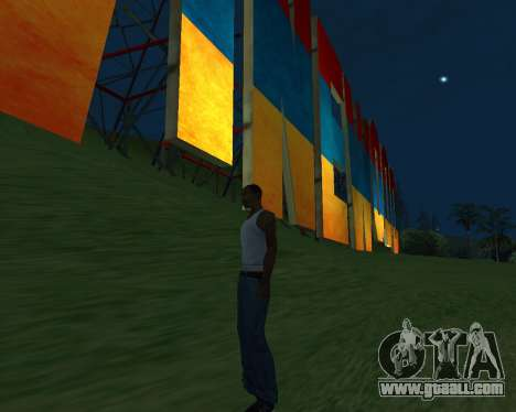 New Vinewood Armenia for GTA San Andreas fifth screenshot