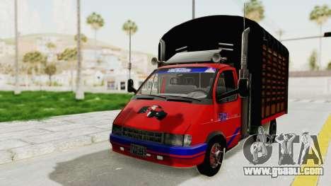 GAZelle 33021 Stylo Colombia for GTA San Andreas