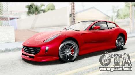 GTA 5 Grotti Bestia GTS IVF for GTA San Andreas