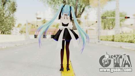 TDA IYDD Miku for GTA San Andreas third screenshot