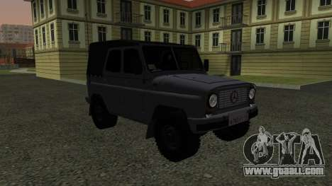 UAZ-469 for GTA San Andreas back left view