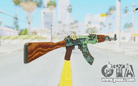 CS:GO - AK-47 Fire Serpent for GTA San Andreas second screenshot