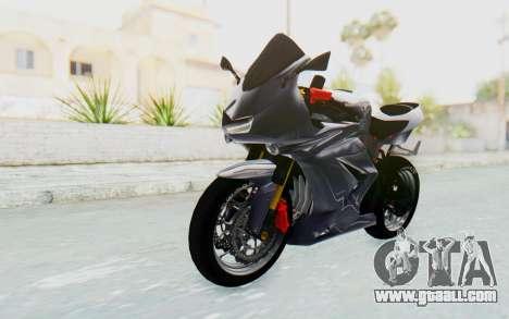 Kawasaki Ninja 250R Streetrace v2 for GTA San Andreas right view