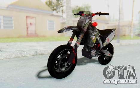 Kawasaki KX125 Supermoto v2 High Modif for GTA San Andreas