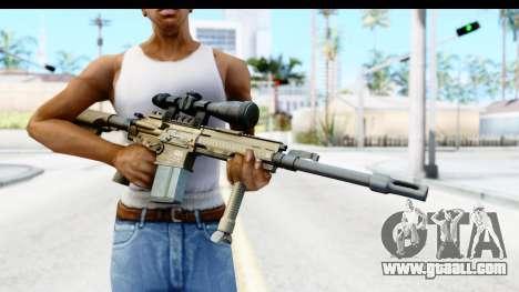 CoD Ghosts - G-28 Desert Camo for GTA San Andreas third screenshot