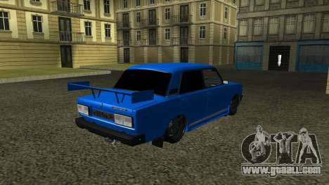 VAZ 2107 Sport for GTA San Andreas right view