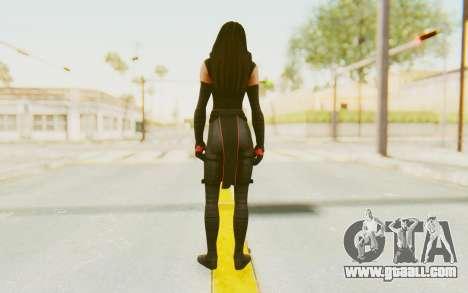 Marvel Heroes - Elektra for GTA San Andreas third screenshot