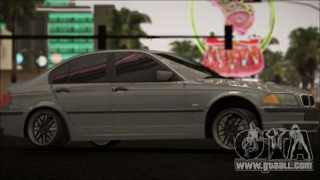 BMW E46 for GTA San Andreas inner view