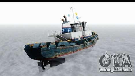 GTA 5 Buckingham Tug Boat v2 IVF for GTA San Andreas right view