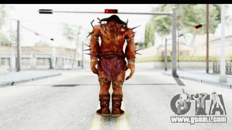 God of War 3 - Hades for GTA San Andreas third screenshot
