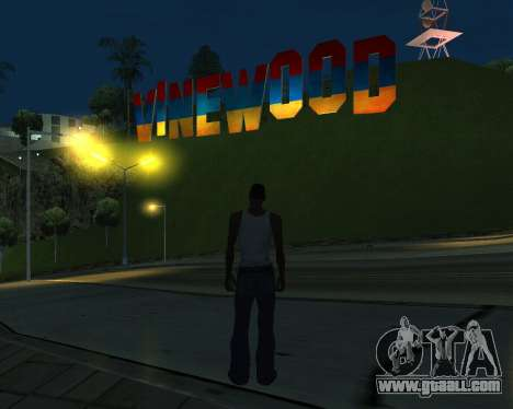 New Vinewood Armenia for GTA San Andreas third screenshot