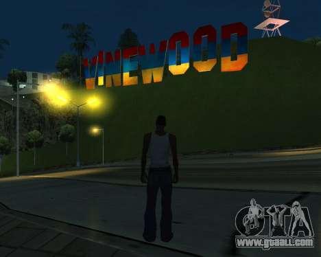New Vinewood Armenia for GTA San Andreas third screenshot