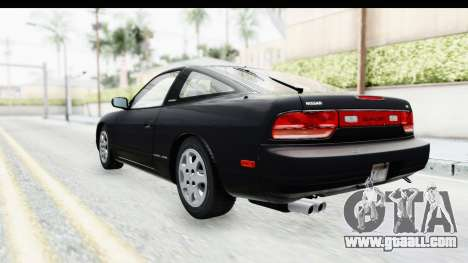 Nissan 240SX 1994 v2 for GTA San Andreas back left view