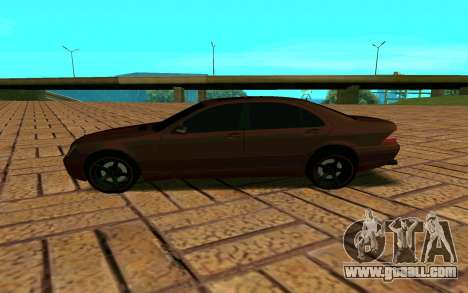 Mercedes S600 W220 JoRick Revazov for GTA San Andreas left view