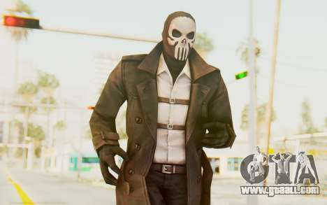 Marvel Future Fight - Punisher (Noir) for GTA San Andreas