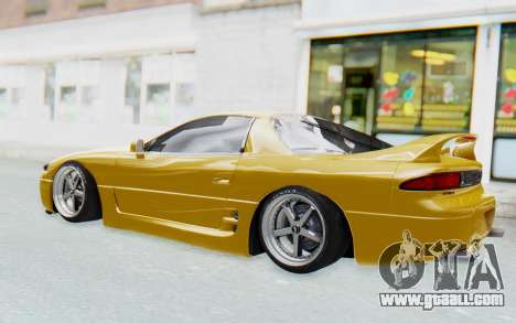 Mitsubishi 3000GT 1999 for GTA San Andreas back view