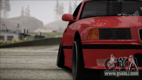 BMW E36 Stance for GTA San Andreas upper view