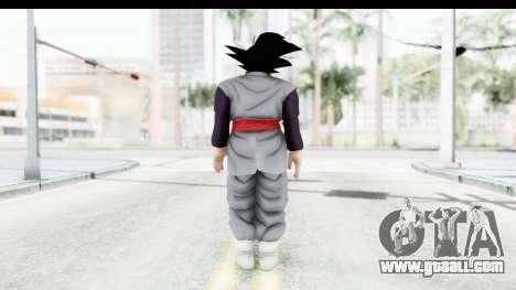 Dragon Ball Xenoverse Goku Black for GTA San Andreas third screenshot