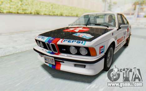 BMW M635 CSi (E24) 1984 IVF PJ2 for GTA San Andreas interior