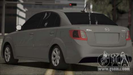 Kia Rio for GTA San Andreas left view