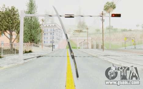 Yuri Katana for GTA San Andreas second screenshot