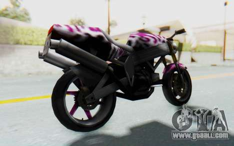 FCR-900 Custom v2 for GTA San Andreas back left view