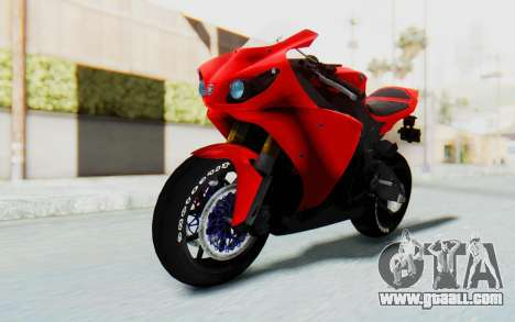 Yamaha YZF-R1 for GTA San Andreas right view