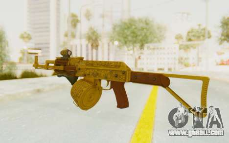 GTA 5 DLC Finance and Felony - Assault Rifle for GTA San Andreas second screenshot