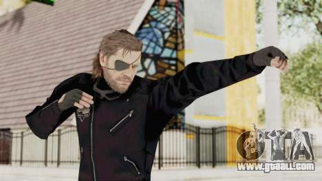 MGSV Phantom Pain BIG BOSS Leather Jacket for GTA San Andreas