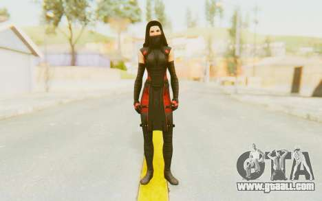 Marvel Heroes - Elektra for GTA San Andreas second screenshot