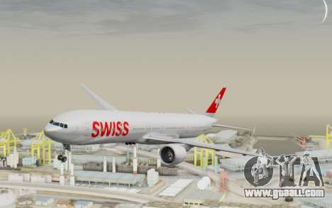 Boeing 777-300ER Swiss Global Air Lines for GTA San Andreas