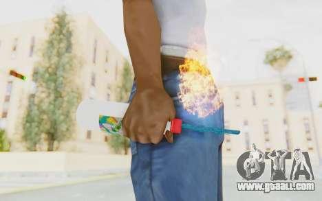 Hatsuni Miku Molotov for GTA San Andreas third screenshot