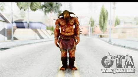 God of War 3 - Hades for GTA San Andreas second screenshot