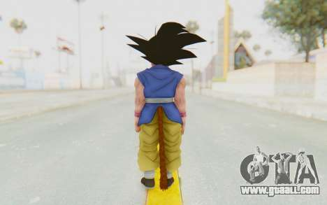 Dragon Ball Xenoverse Goku Kid GT SJ for GTA San Andreas third screenshot