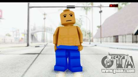 LEGO Carl Johnson for GTA San Andreas second screenshot