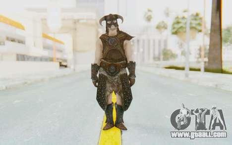 Skyrim - Dovahkiin for GTA San Andreas second screenshot
