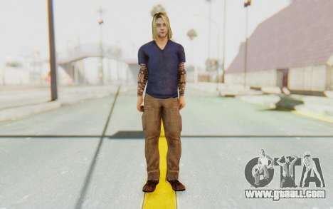 Kurt Cobain for GTA San Andreas second screenshot