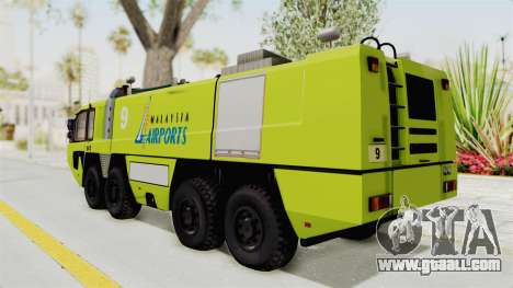 Rosenbauer Panther 8x8 Malaysia Airports for GTA San Andreas left view