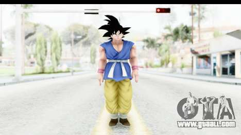 Dragon Ball Xenoverse Goku GT Adult SJ for GTA San Andreas second screenshot